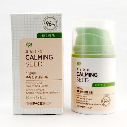 kem-duong-am-cho-da-mun-the-face-shop-calming-seed-skin-resting-cream