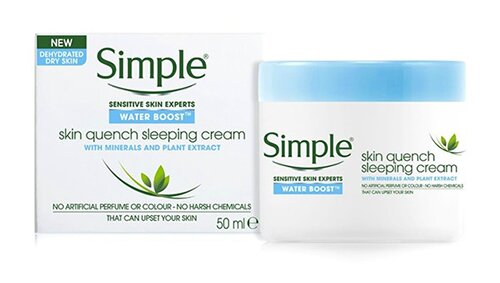 kem-duong-am-simple-water-boost-skin-quench-sleeping-cream