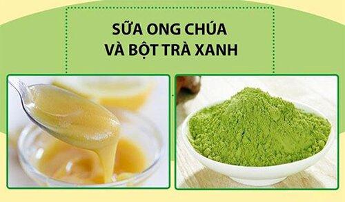 bot-tra-xanh-va-sua-ong-chua1