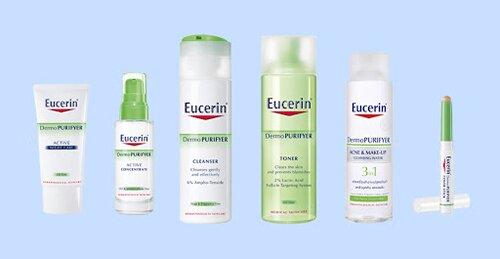 review sữa rửa mặt eucerin review