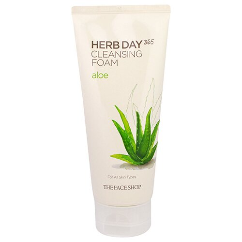 sua-rua-mat-the-face-shop-herb-day-365-foaming-cleanser-aloe-new