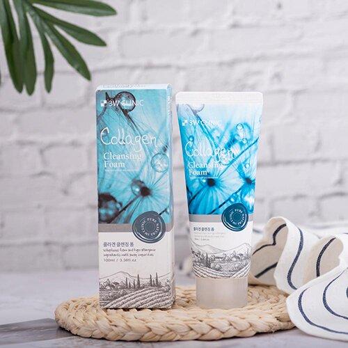 sua-rua-mat-3w-clinic-collagen-cleansing-foam