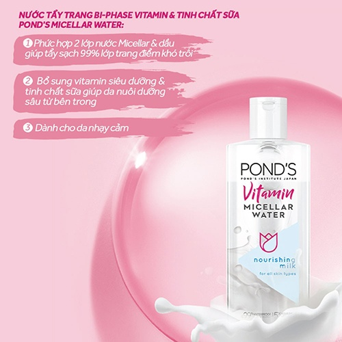 review-nuoc-tay-trang-ponds-vitamin-micellar-water-nourishing-milk